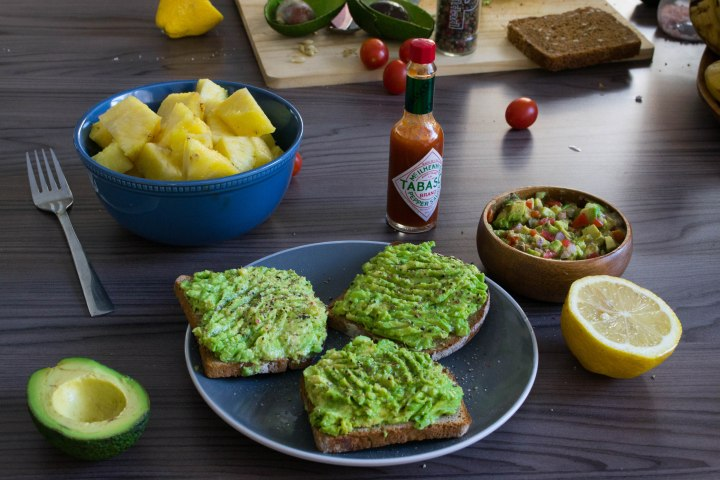 Avocado Toast + Out of this World Guacamole